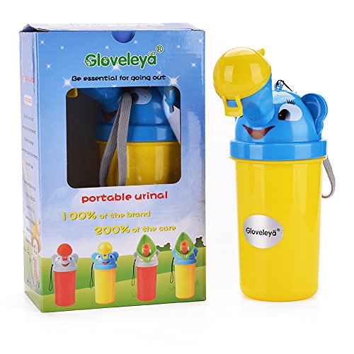 (Gloveleya Baby Boy Portable Potty Urinal Toddler Training Pee for Camping Car Travel )