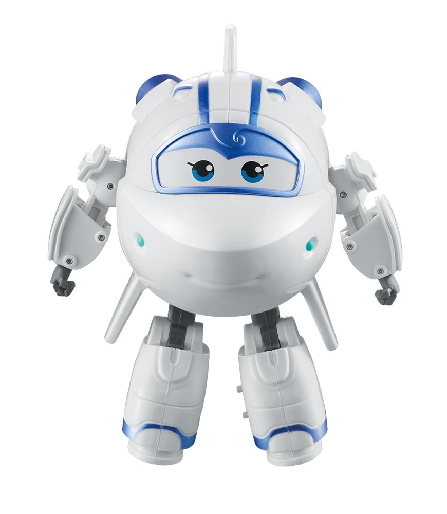 "Super Wings - Transforming Astra Toy Figure | Spaceship | Bot | 5"" Scale"