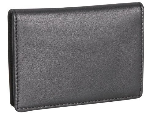 Royce Leather Men's Business Card Case (One size, RFID (Gusseted Business Card Case)