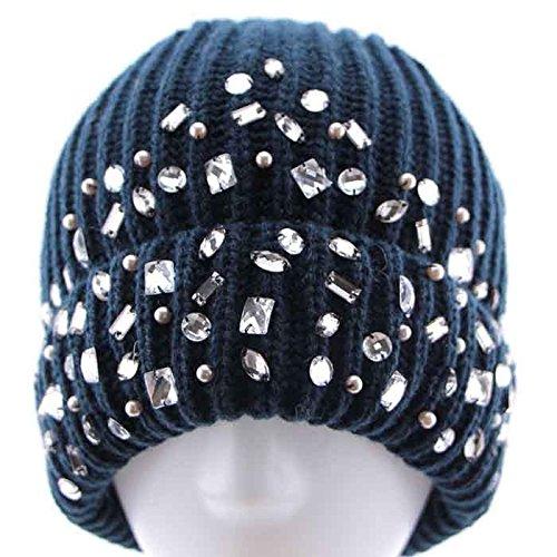 Invierno 1 señoras Fashion Sombrero de 3 Las Sombrero Maozi Gorro Punto de de Lana Occidental 8gTnfqw