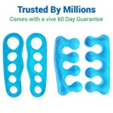 ViveSole Toe Stretchers (4 Pieces) - Silicone Gel