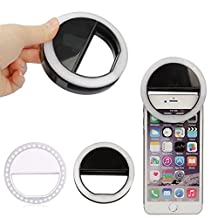 Cellphone led light,Cellphone LED Selfie Ring Light,Phone camera Fill-in light case for iphone 6plus/6s plus,36 LED lamp source,3 adjustable brightness,apply to IOS and Android (White)