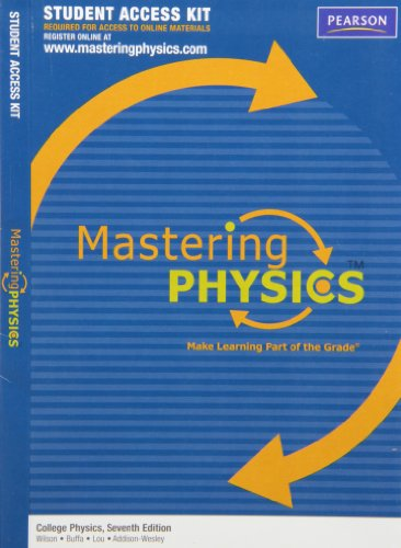 MasteringPhysics Student Access Kit for College Physics (7th Edition)