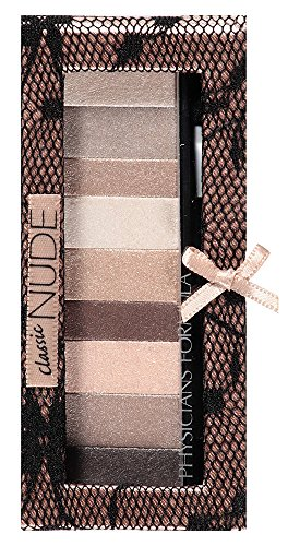 Physicians Formula Shimmer Strips Custom Eye Enhancing Shadow & Liner, Nude Collection, Classic Nude Eyes, 0.26 Ounce ()