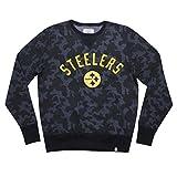 Mens PIT Steelers Athletic Pullover Thermal Sweatshirt