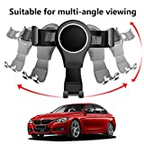 LUNQIN Car Phone Holder for 2013-2018 BMW 3 Series
