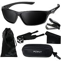 [Patrocinado] Morph lente polarizadas anteojos de deporte para los hombres y las mujeres + Set Completo de Accesorios