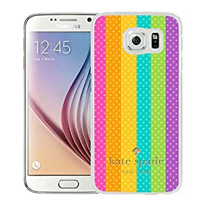 Unique Custom Designed Kate Spade Cover Case For Samsung Galaxy S6 White Phone Case 167