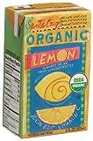 Santa Cruz Organic Lemon Juice Drink, 8-Ounce Aseptic Boxes (Pack of 27)