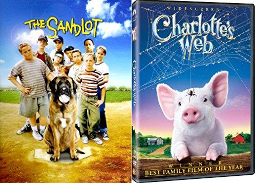 e SANDLOT - DVD Movie Combo Family kid fun set ()