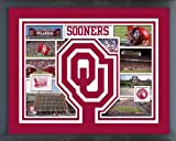 Oklahoma Sooners Photo Collage Matted & Framed 12.5'' x 15.5''