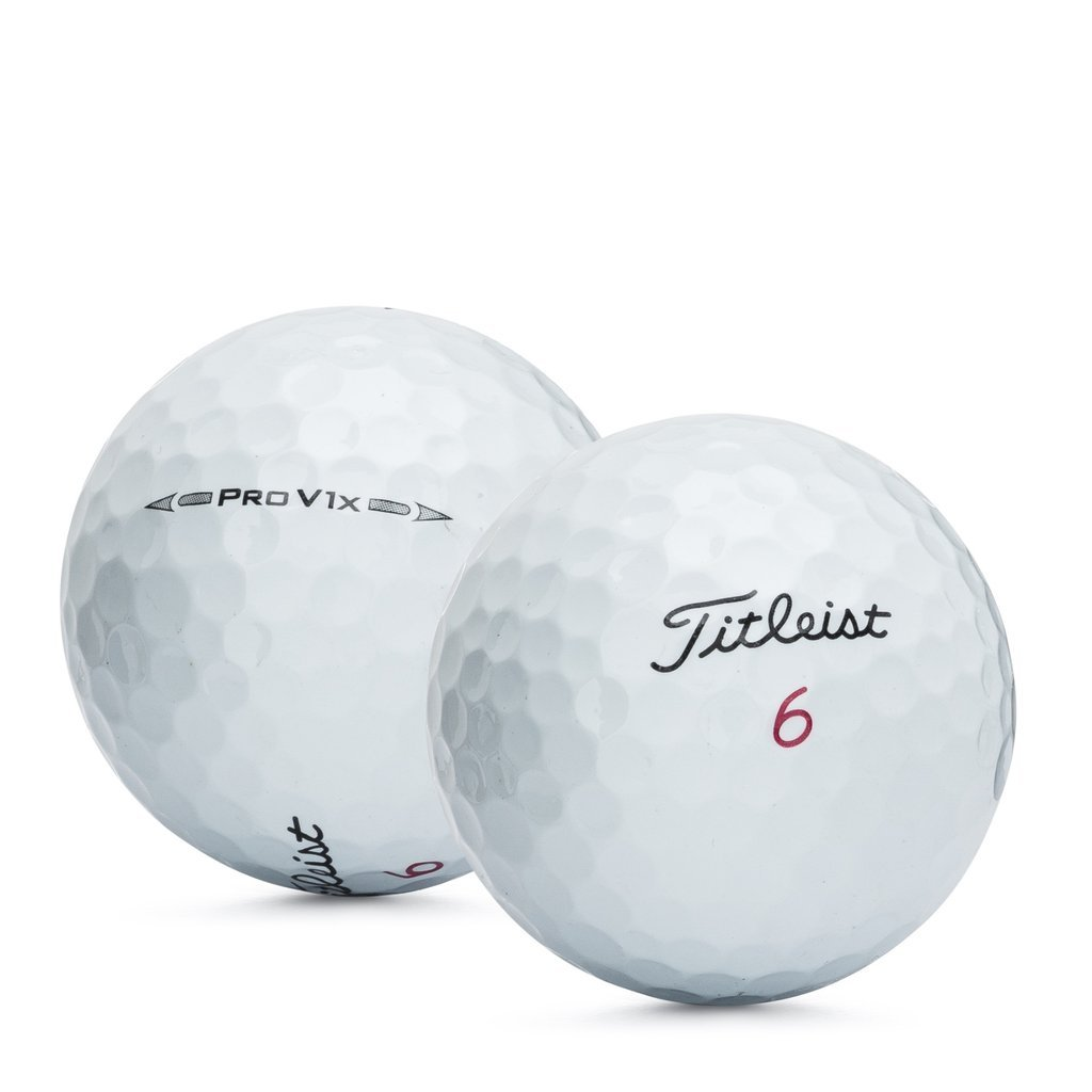 Titleist Pro V1X 2016 Recycled Golf Balls (Pack 24) by Titleist