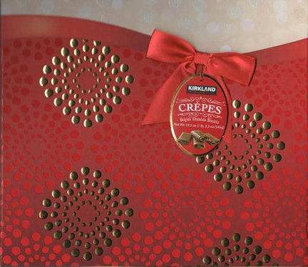 Belgian Chocolate Biscuits - LOC Maria Style Crepes au Chocolat 546g/19.3 Oz