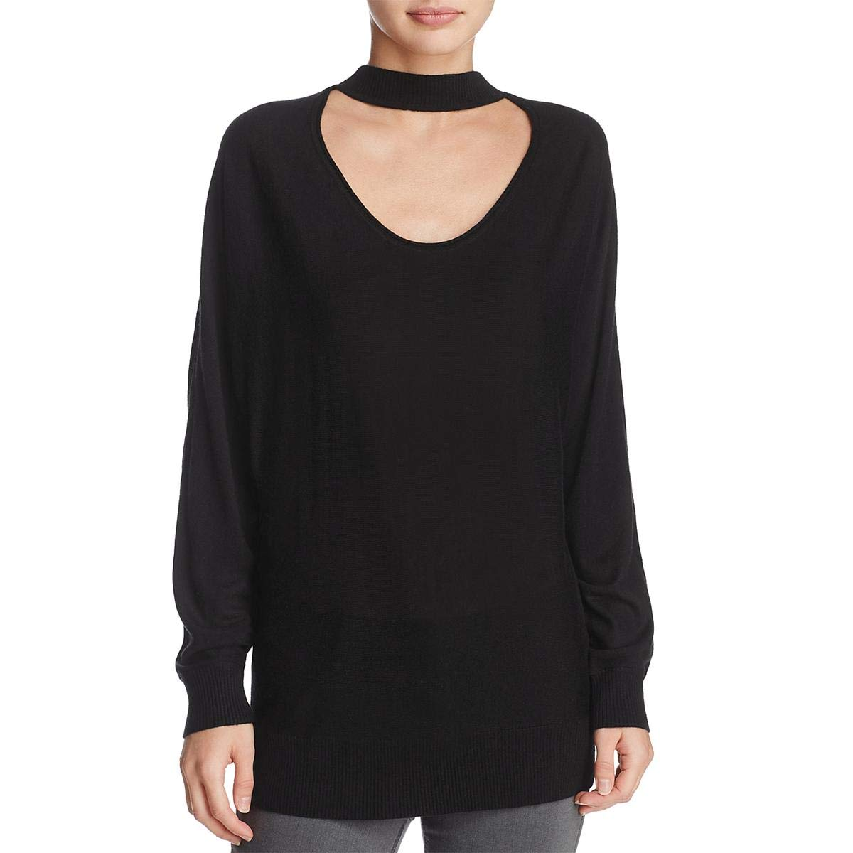 Splendid Women's Kenton Reversible Sweater, Black, S