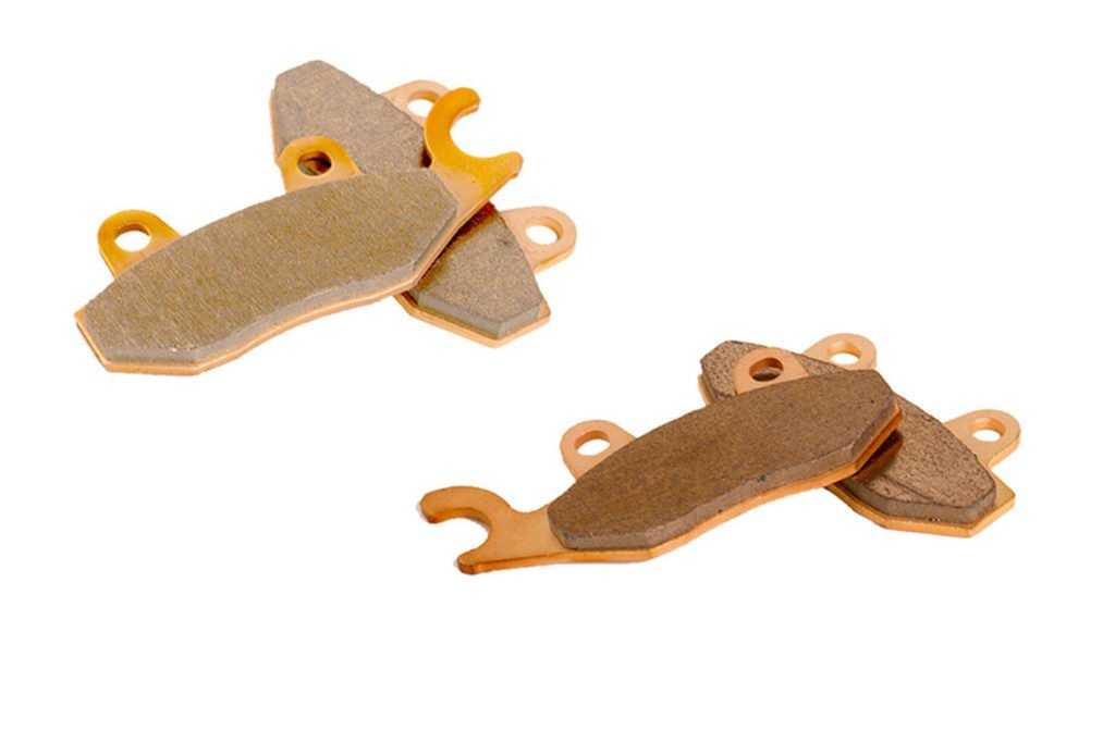 Brake Pads for Yamaha Viking 700 VI YXC700 4x4 2015-2017 Rear by Race-Driven