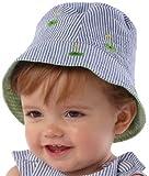 Mud Pie Baby-boys Newborn Golf Sun Hat, Blue, 0-12 Months