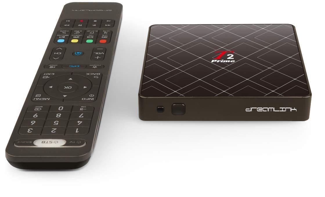 Dreamlink T2 Prime 2GB RAM Built in WiFi Bluetooth IR Extender Smart Remote