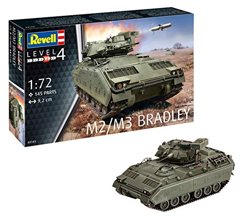 Used, Revell 03143 M2/m3 Bradley 1:72 Scale Model Kit for sale  Delivered anywhere in USA