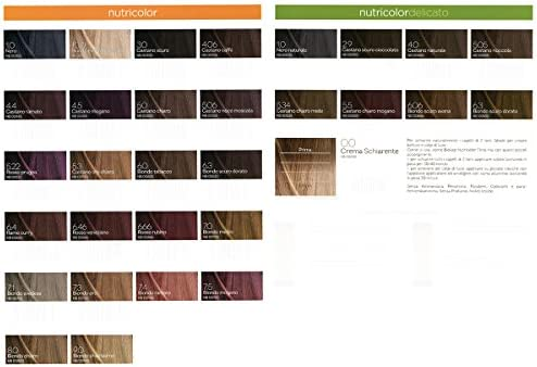Bios Line BIOKAP – Nutricolor 7.4 Rubio Cobrizo New 24 ...