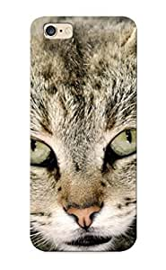 High-end Case Cover Protector For Iphone 6 Plus(big And Fat Cat Dangerous Eyes )