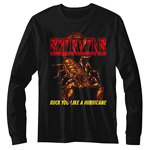 Scorpions Long Sleeve Shirt Rock You Like a Hurricane Scorpi