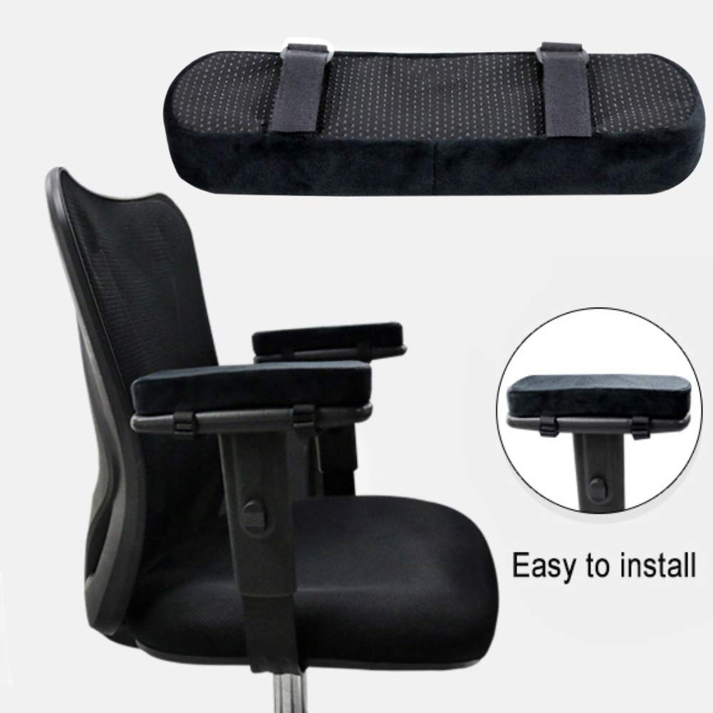 1Pc soft foam office chair armrest pad elbow pillow pressure cushion by Redmoon0204 (Image #2)