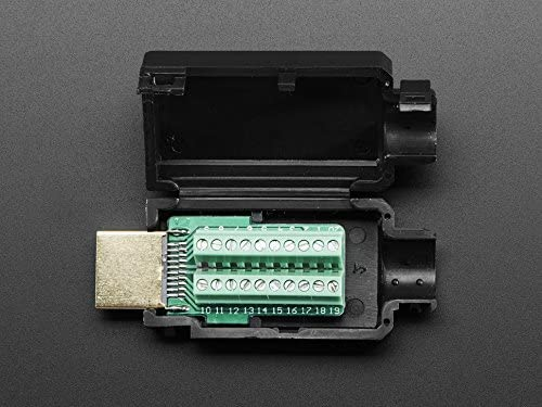 Amazon.com: HDMI Plug a bloque de terminal Breakout: Home ...