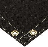 Steiner 376-6X6 Flex 28-Ounce Heavy Acrylic Coated Fiberglass Welding Blanket, Black, 6' x 6'