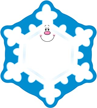 Amazon Com Carson Dellosa Snowflake Cutouts Winter Bulletin Board Decorations Holiday Displays Christmas For Homeschool Or Classroom Decor 36 Pc Publishing Office Products