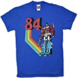 Transformers Optimus Prime 1984 80's T-shirt (Large, Black) offers