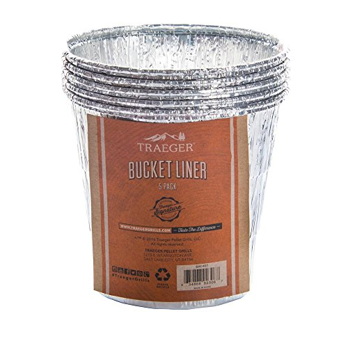 Traeger Wood Fired Grills Bucket Liner - 5 Pack ()