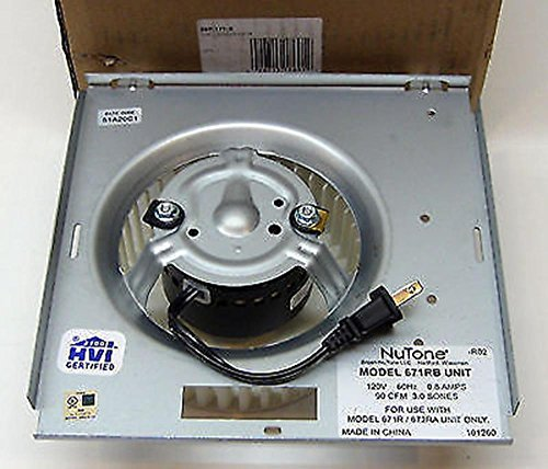 Broan Nutone S97017708 Bath Fan Vent Motor Asm for 671RB 100600 71731998