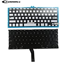 SUNMALL Backlight Backlit keyboard replacement for Apple Macbook Air 13 A1369 (2011) A1466 (2012-2015) MJVE2LL/A MD760LL/A MC965LL/A MD231LL/A MJVG2LL/A Series Laptop Keyboard (6 Months Warranty)