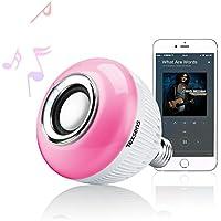 Texsens Music Lamp LED Bulb with Integrated Speaker