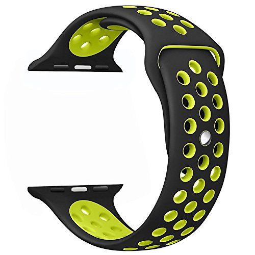 OULUOQI Silicone Replacement Wrist Yellow product image