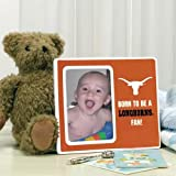 Texas Longhorns Burnt Orange Born To Be Ceramic Picture Frame