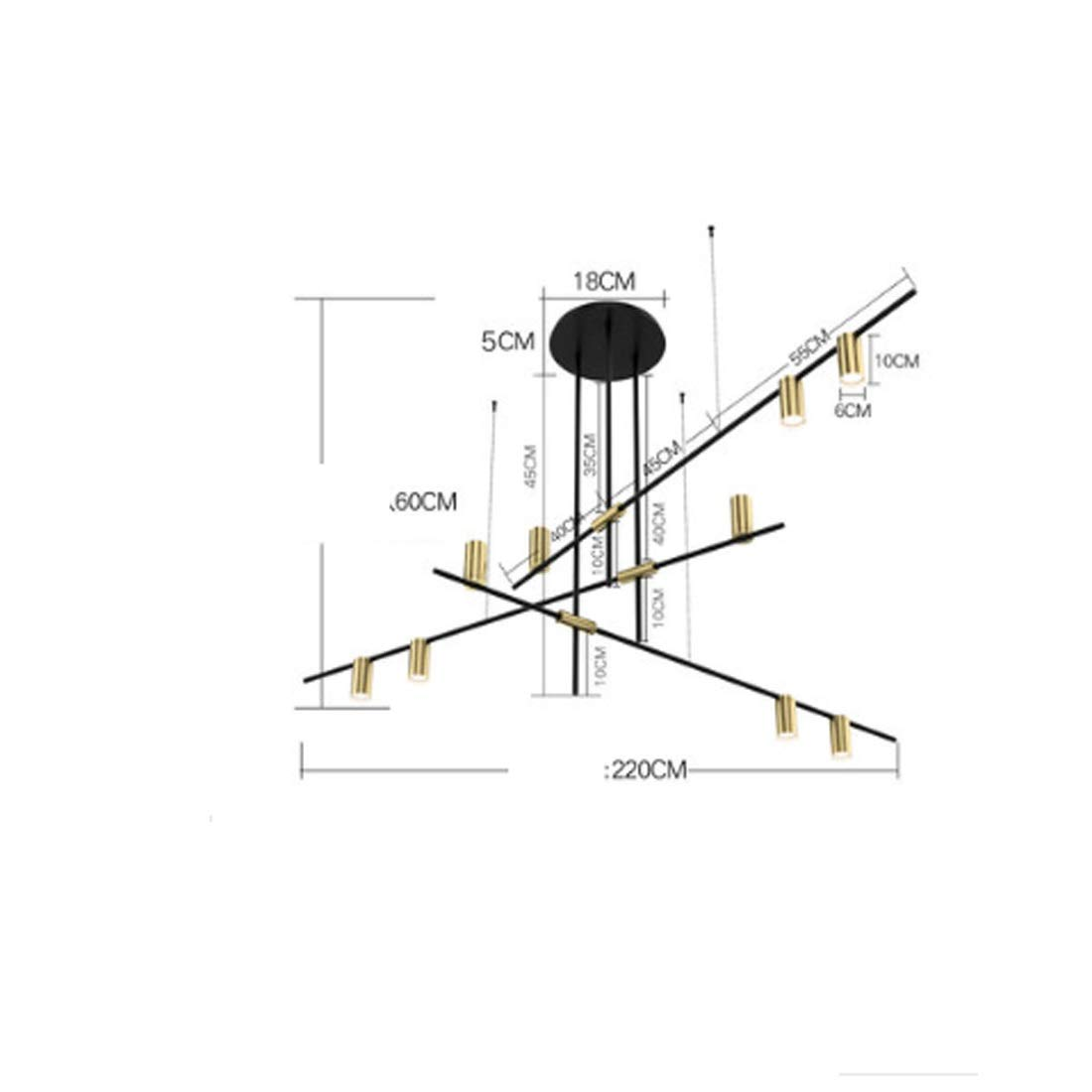 Gquan シャンデリア、リビングルームの寝室用フル銅ランプシェード+ LED光源 (サイズ さいず : Xs xs) B07QVL68CX  Xs xs