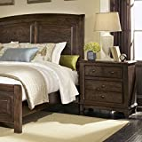 Coaster Home Furnishings 201076R Rustic Nightstand, Cocoa Brown