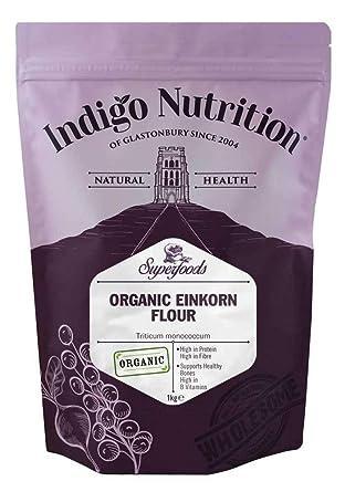 Indigo Herbs Harina de Einkorn Organica 1kg: Amazon.es ...