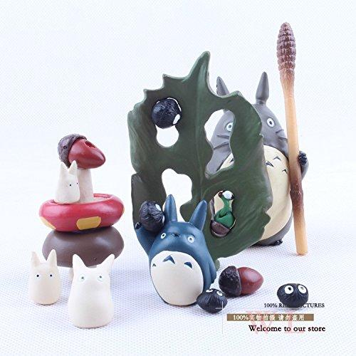 Amazon.com: Anime Cartoon Miyazaki Hayao My Neighbor Totoro PVC Action Figure Collectible Model Toy Doll: Toys & Games