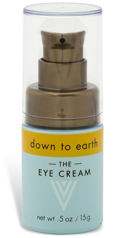 "Down to Earth ""The Eye Cream"" | Revolutionary Anti-Aging, Anti-Wrinkle, Anti-Line, Moisturizing, Antioxidant, Skin Repair & Brightening Formula"