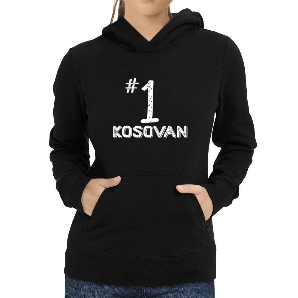 Eddany Number 1 Kosovan Women Hoodie