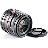 25 F1.8 wide angle high definition lens with muti-coating glass red circle for SONY Alpha A7S A7R A7 Mark II A7 II A6000 A5100 A5000 A3000