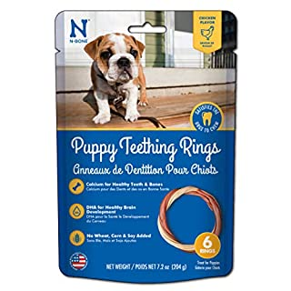 N-Bone Puppy Teething Ring Chicken Flavor (1 Pack Of 6 Rings)