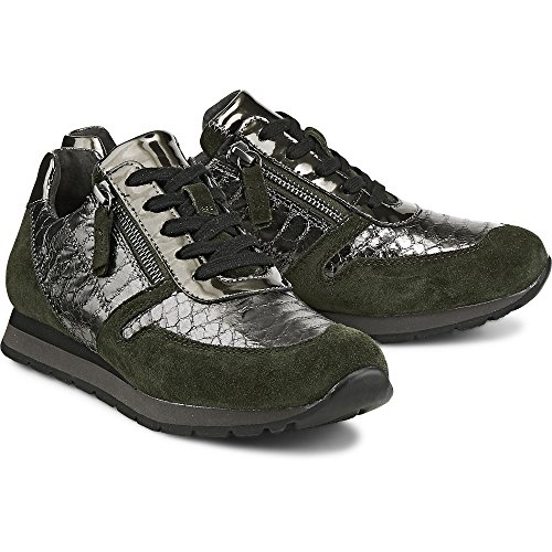 Basic Stringate Verde Scarpe Donna Bottle Derby Anthr 35 sgrau Gabor Comfort Z51HCBqq