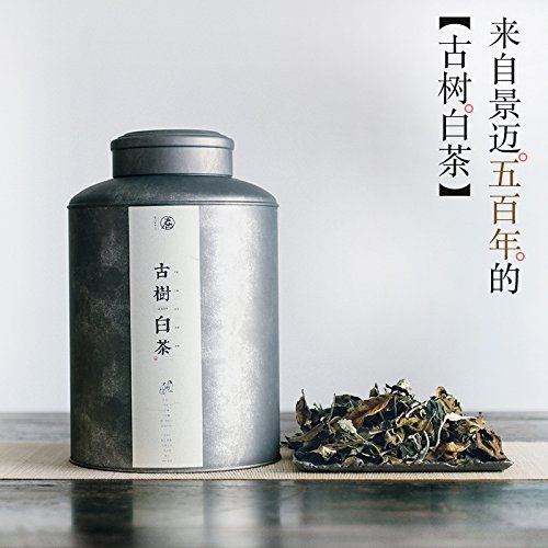 Aseus Old white tea Jing maishan sanwubo years old tea does not bake the healing process of easy conversion of white peony tea powder bag mail by Aseus-Ltd