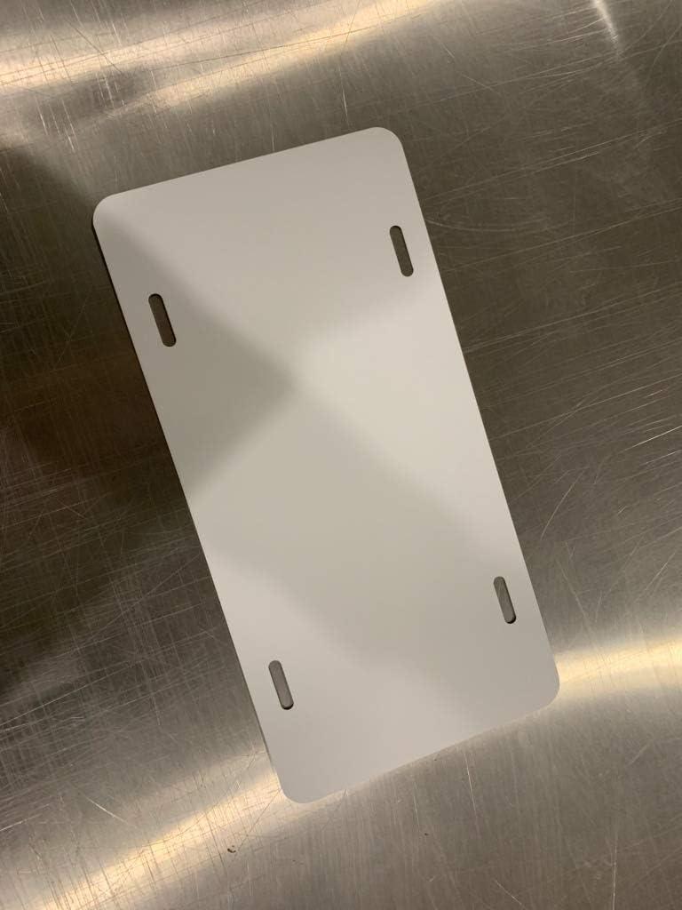 Wrapco Graphics License Plate Blank 1, White