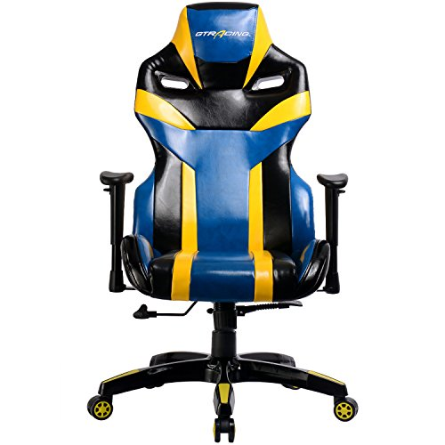 51zALk3HJjL - GTracing Executive High-Back Gaming Chair Computer Office Chair PU Leather Swivel Chair Racing Chair