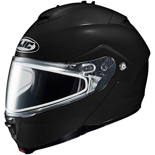 HJC Solid Adult IS-Max 2 Snowcross Snowmobile Helmet - Black/X-Large