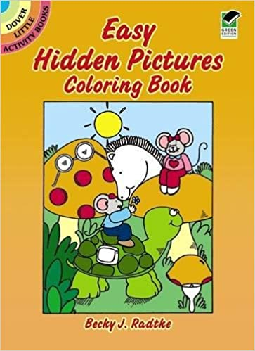 Easy Hidden Pictures Coloring Book Dover Little Activity Books